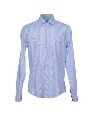 Фото - Pубашка от BRIAN DALES синего цвета