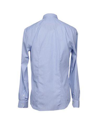 Фото 2 - Pубашка от BRIAN DALES синего цвета