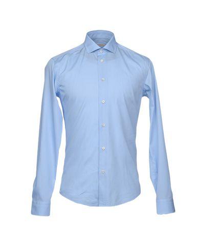 Фото - Pубашка от BRIAN DALES небесно-голубого цвета