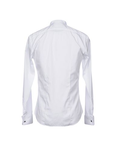 Фото 2 - Pубашка от BRIAN DALES белого цвета