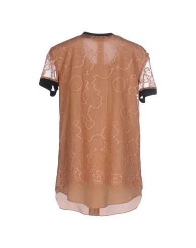 Фото 2 - Женскую блузку TWINSET цвет телесный