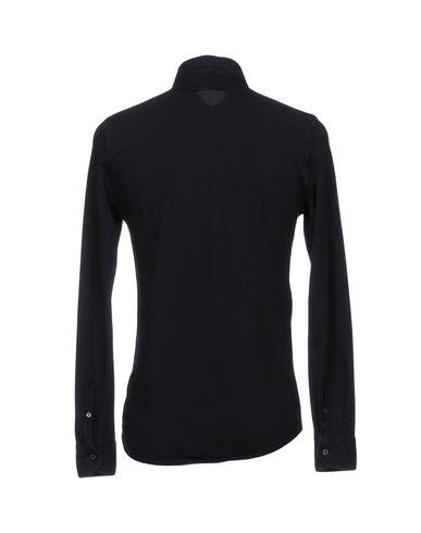 Фото 2 - Pубашка от DRUMOHR темно-синего цвета