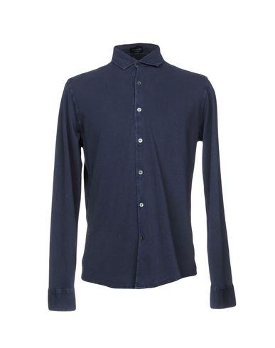 Купить Pубашка от DRUMOHR синего цвета