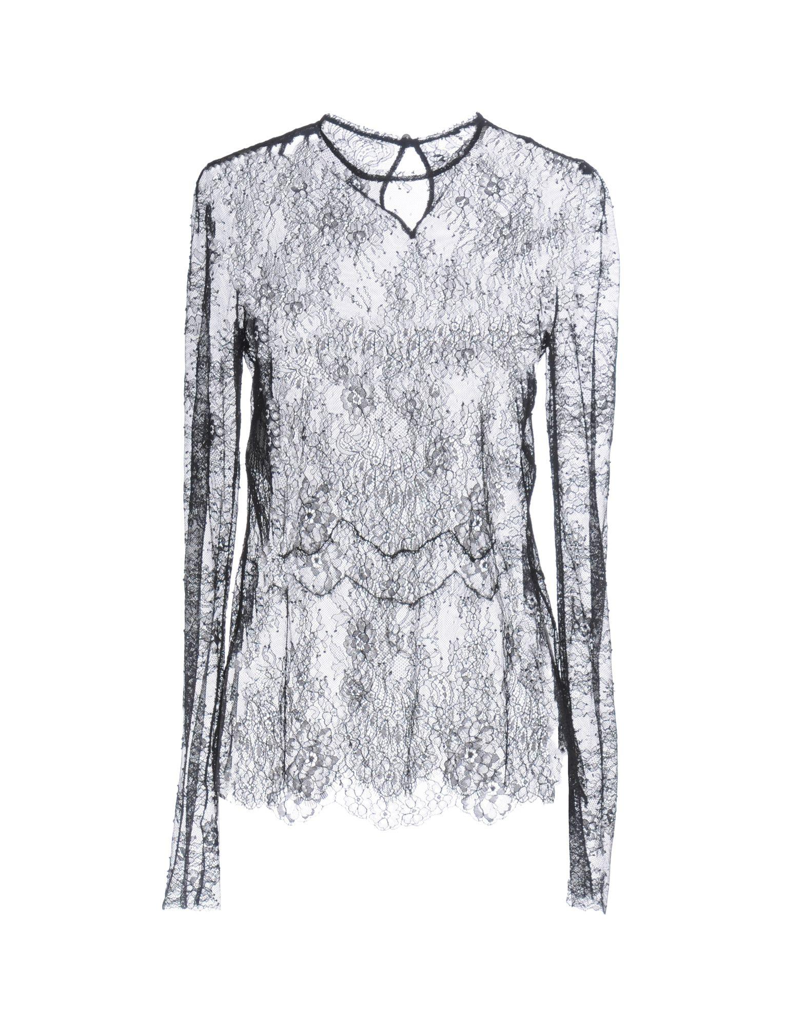 PHILOSOPHY di LORENZO SERAFINI Damen Bluse Farbe Schwarz Größe 5