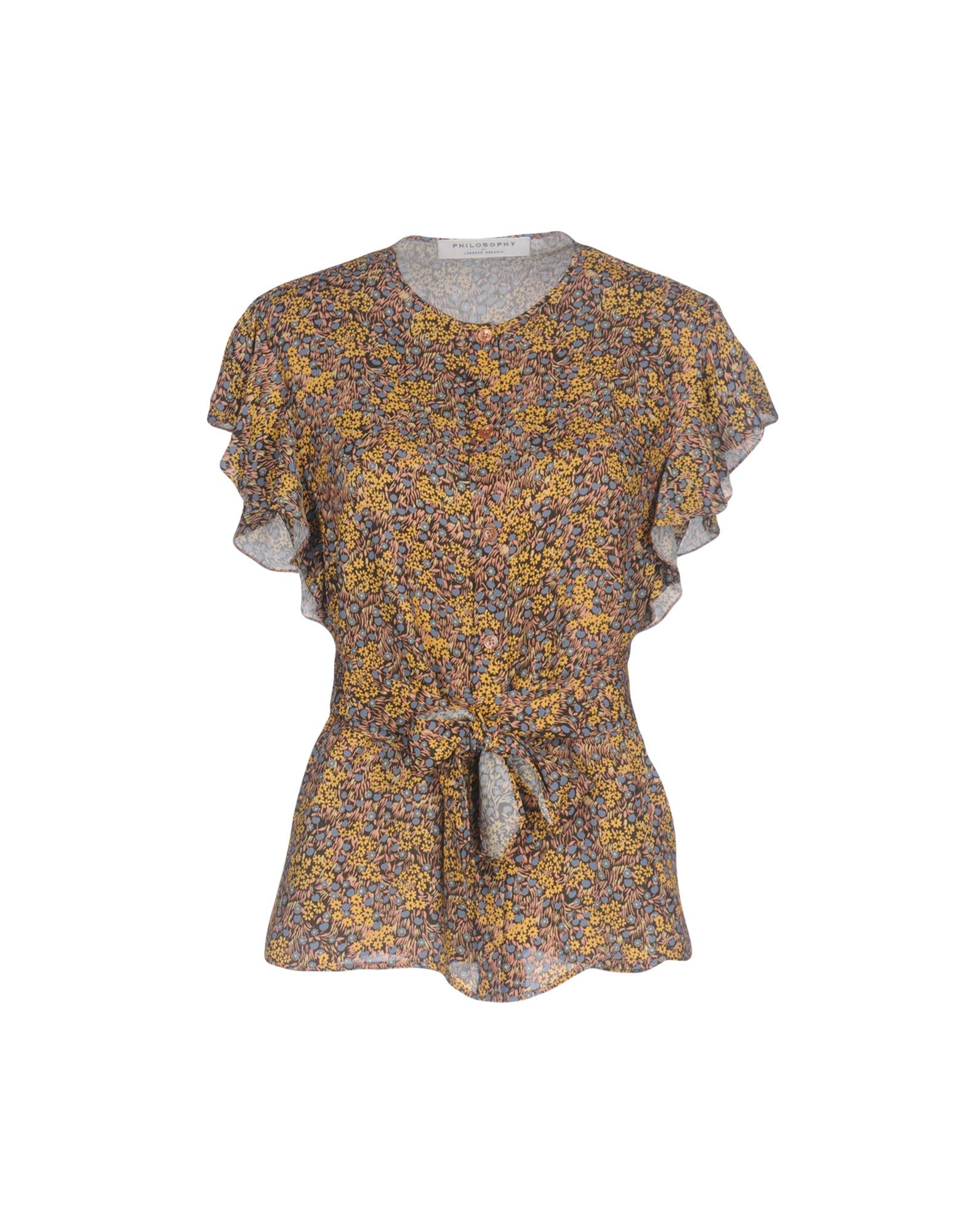 PHILOSOPHY di LORENZO SERAFINI Pубашка цены онлайн