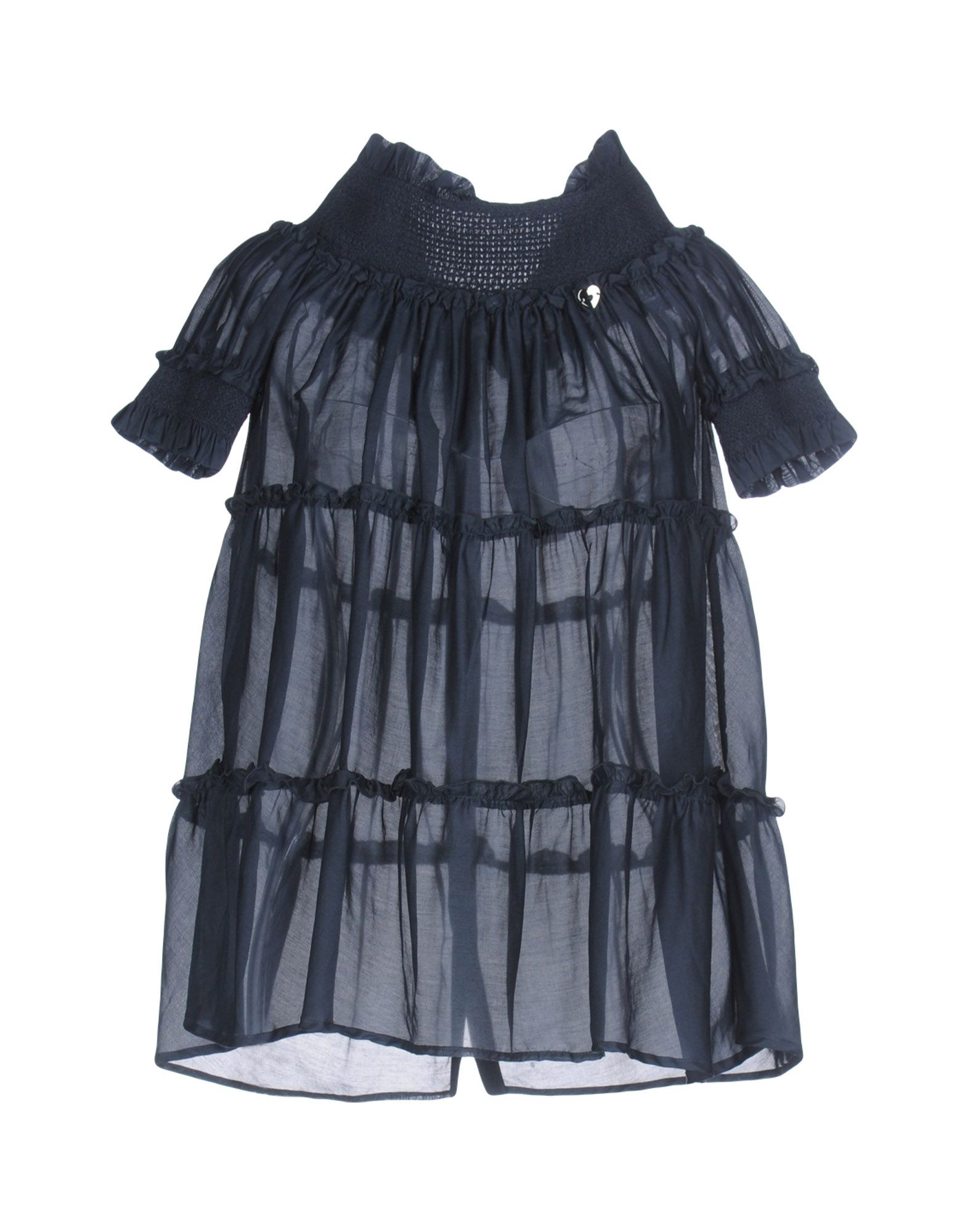 TWIN-SET Simona Barbieri Damen Bluse Farbe Dunkelblau Größe 6