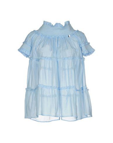 Фото - Женскую блузку TWINSET небесно-голубого цвета