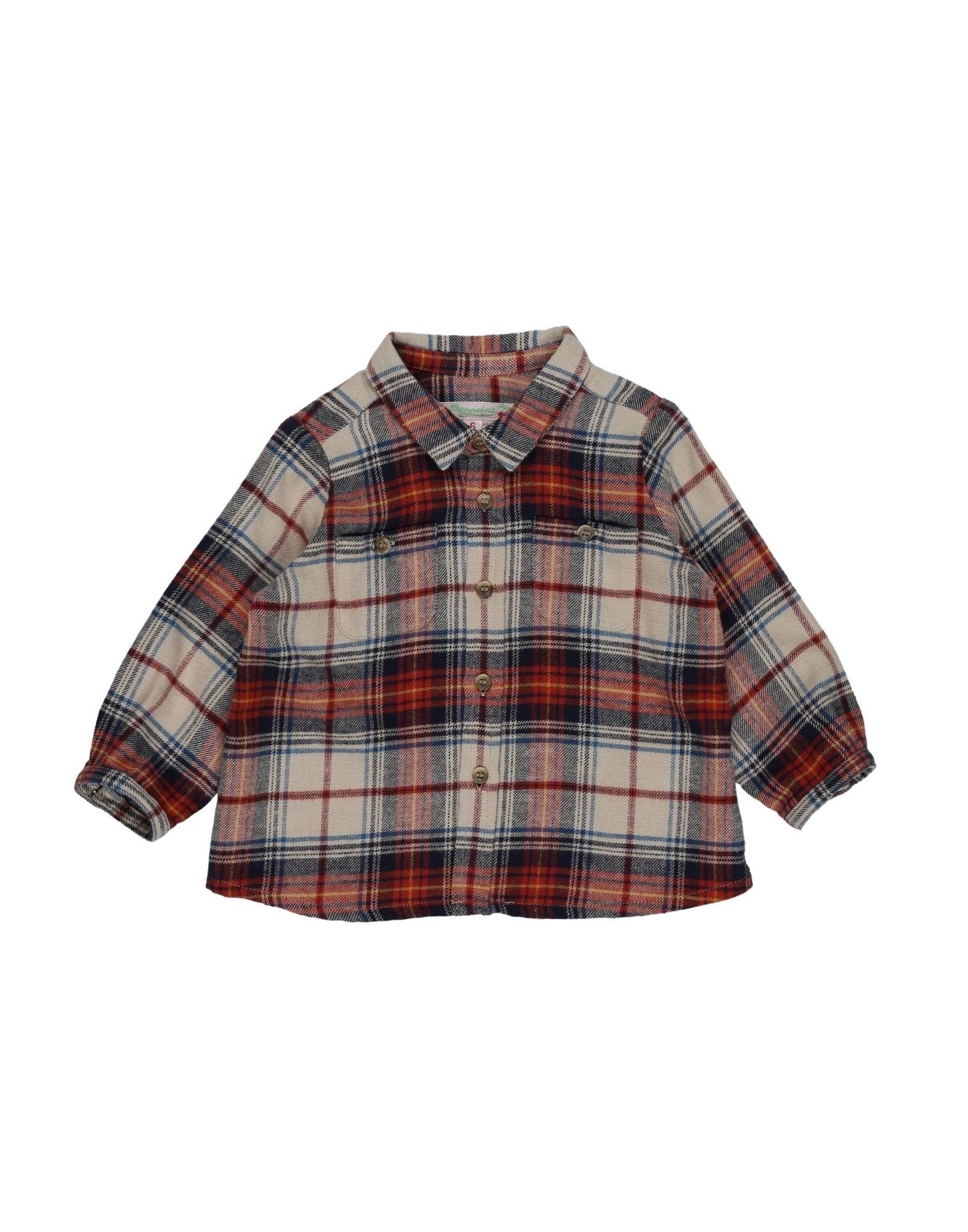 BONPOINT Pубашка bonpoint кожаные пинетки серые