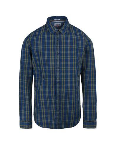 Фото - Джинсовая рубашка от TOMMY JEANS синего цвета