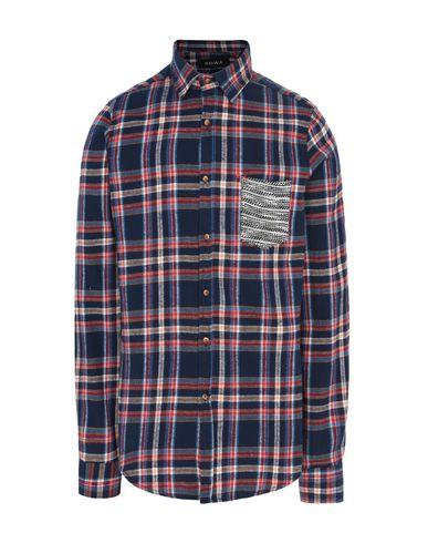 Купить Pубашка от EDWA темно-синего цвета