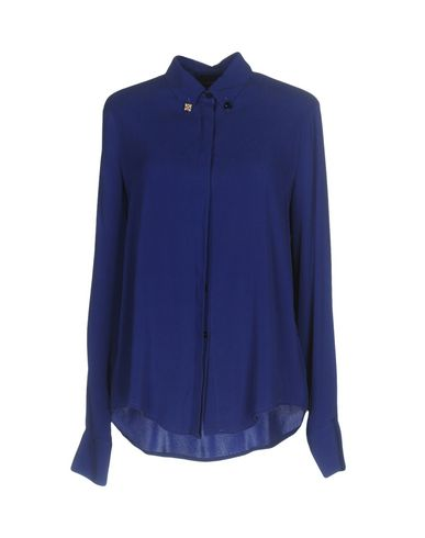 Фото - Pубашка от MALÌPARMI ярко-синего цвета