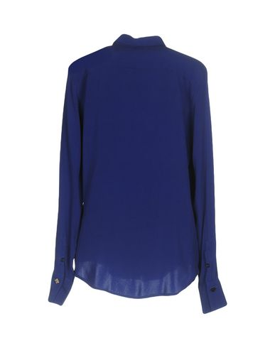 Фото 2 - Pубашка от MALÌPARMI ярко-синего цвета