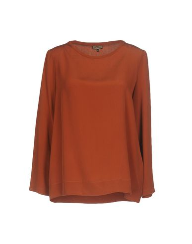 Фото - Женскую блузку MALÌPARMI коричневого цвета