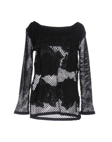 Фото - Женскую блузку TWIN-SET JEANS черного цвета