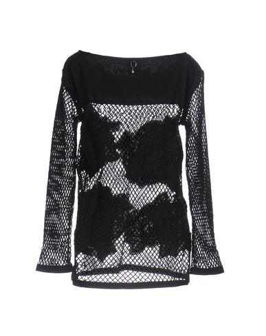 Фото 2 - Женскую блузку TWIN-SET JEANS черного цвета