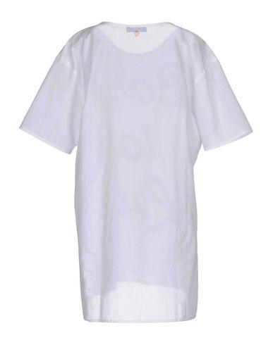 Фото 2 - Женскую блузку TWIN-SET JEANS белого цвета