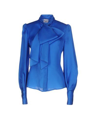 Фото - Pубашка от LEITMOTIV ярко-синего цвета