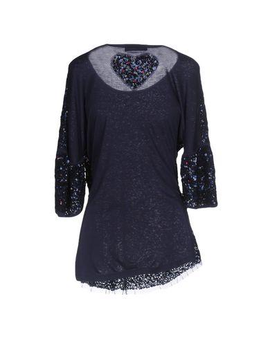 Фото 2 - Женскую блузку TWINSET темно-синего цвета