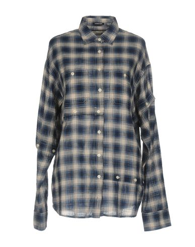 Купить Pубашка от R13 темно-синего цвета
