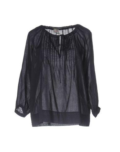 Фото - Женскую блузку  темно-фиолетового цвета