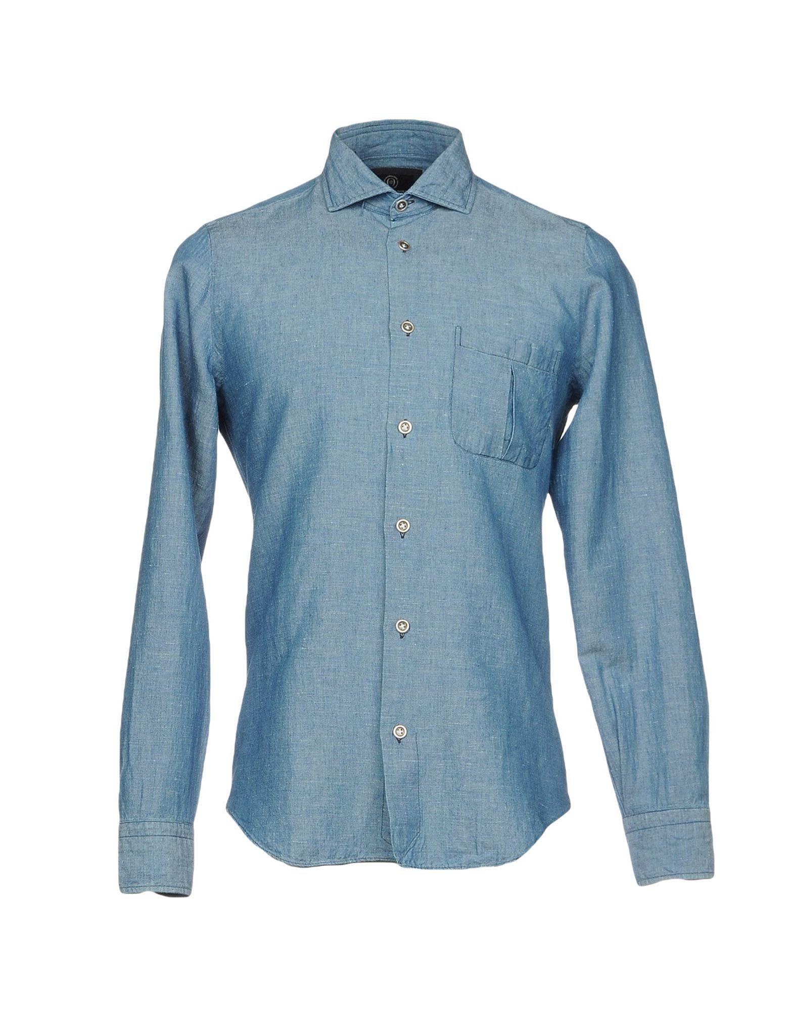 Фото - MASSIMO LA PORTA Джинсовая рубашка massimo la porta джинсовая рубашка