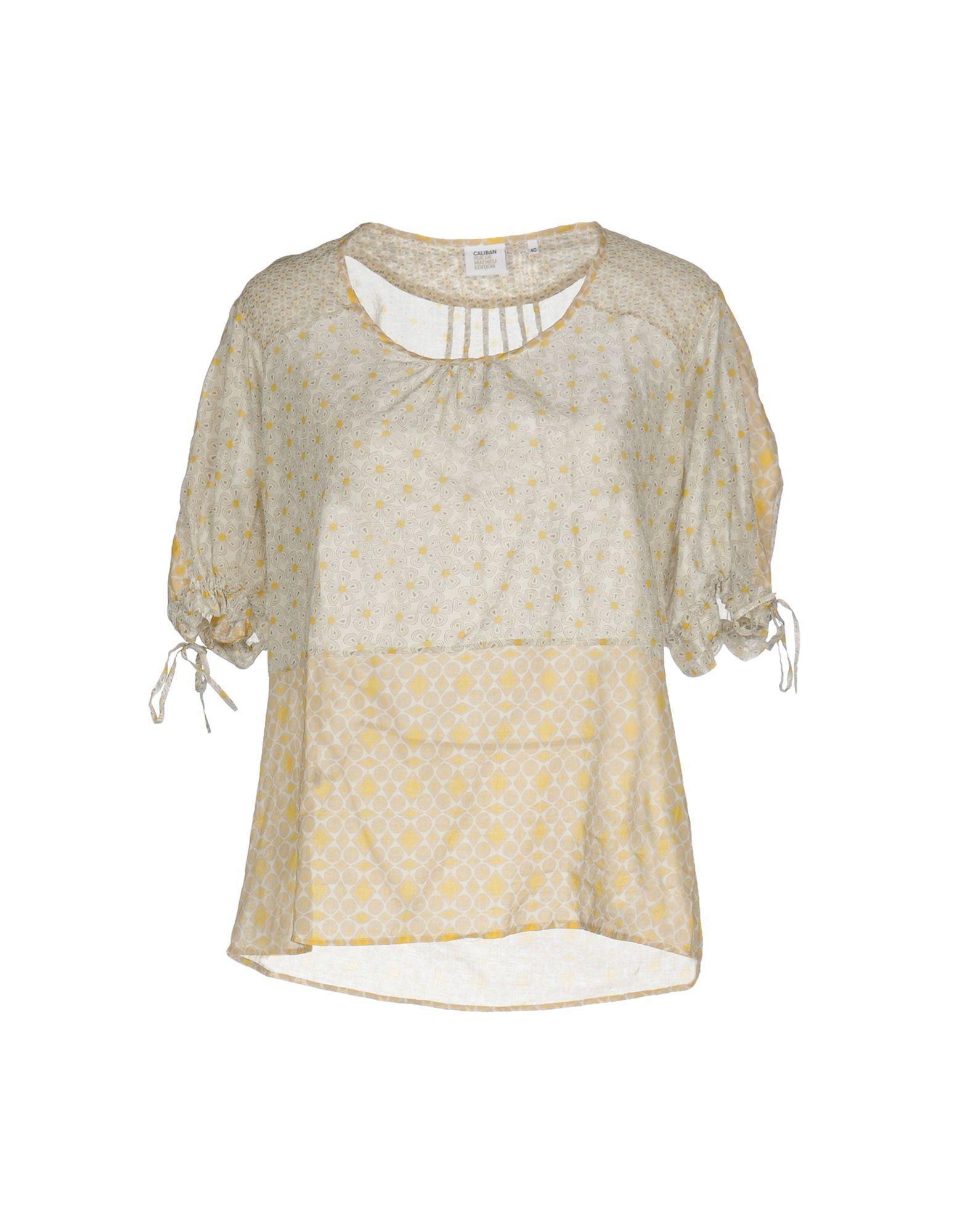 CALIBAN RUE DE MATHIEU EDITION Блузка christine mathieu блузка