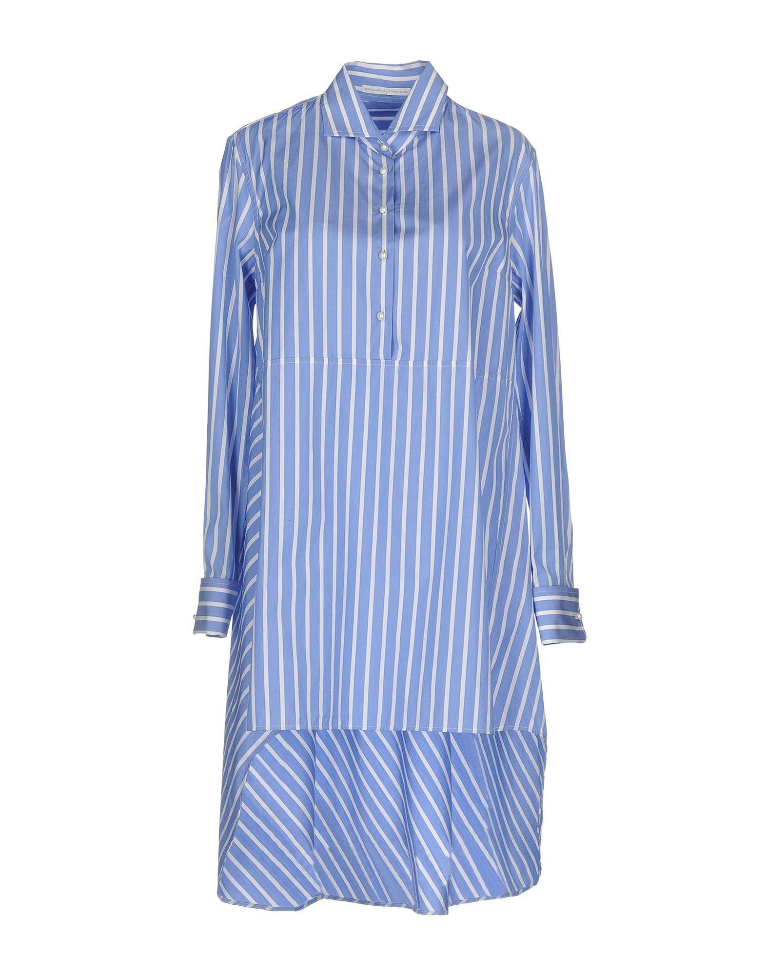 цена ERMANNO SCERVINO Короткое платье онлайн в 2017 году