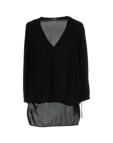 Фото - Женскую блузку ELISABETTA FRANCHI 24 ORE черного цвета