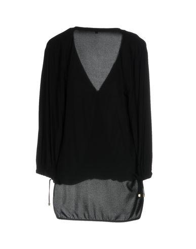 Фото 2 - Женскую блузку ELISABETTA FRANCHI 24 ORE черного цвета