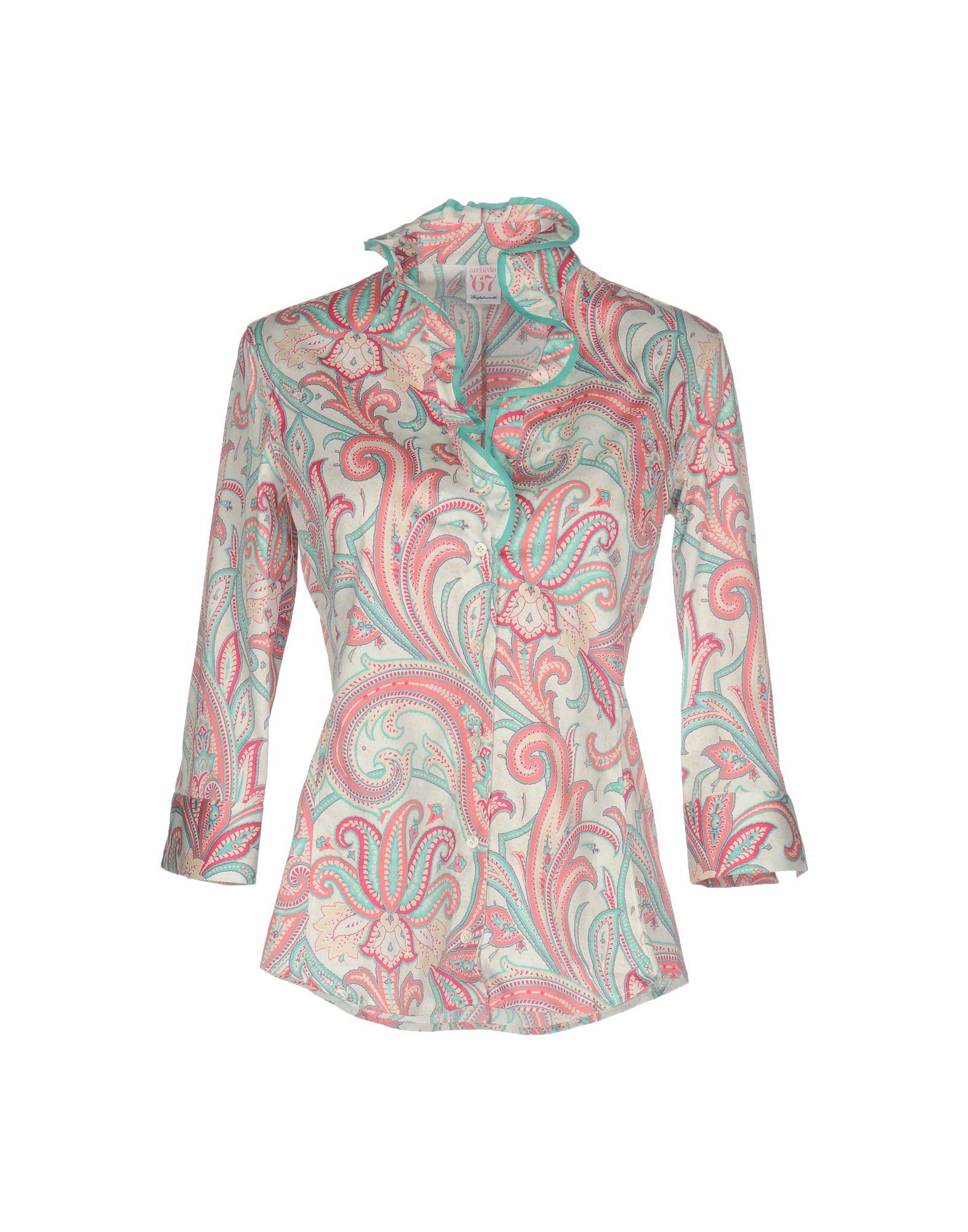 ARCHIVIO ´67 Damen Hemd Farbe Rosa Größe 5