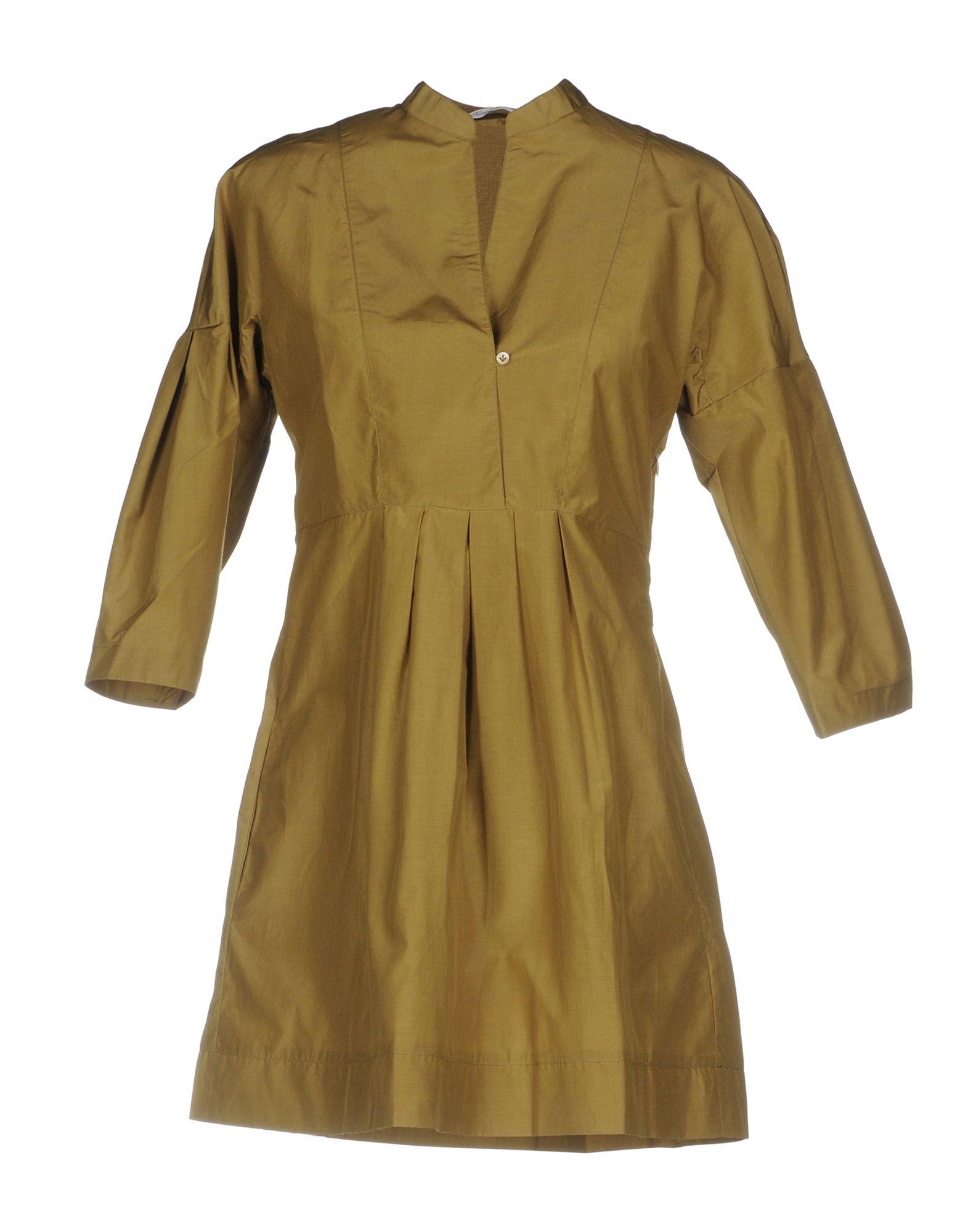 Фото GUGLIELMINOTTI Короткое платье. Купить с доставкой