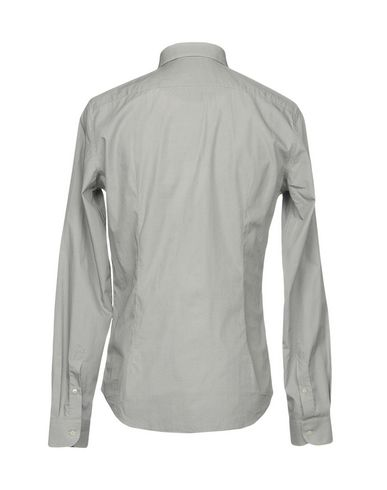 Фото 2 - Pубашка от ROBERT FRIEDMAN серого цвета