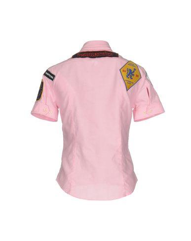 Фото 2 - Pубашка розового цвета