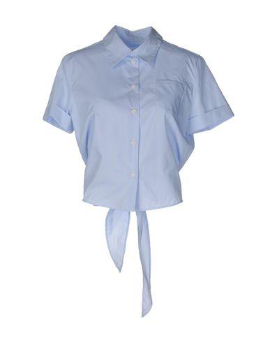 Фото - Pубашка синего цвета