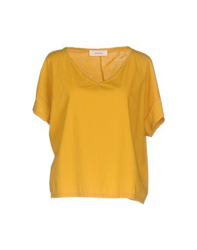 Фото - Женскую футболку JUCCA цвет охра