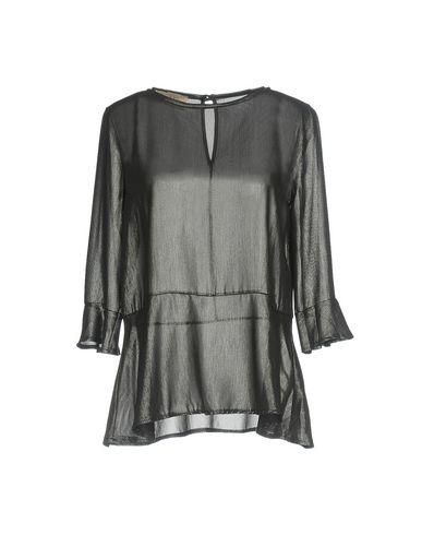 Фото - Женскую блузку KAOS JEANS цвет стальной серый