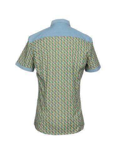 Фото 2 - Pубашка зеленого цвета