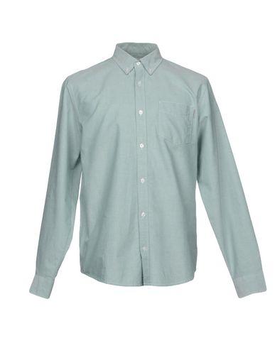 Фото - Pубашка от CARHARTT светло-зеленого цвета