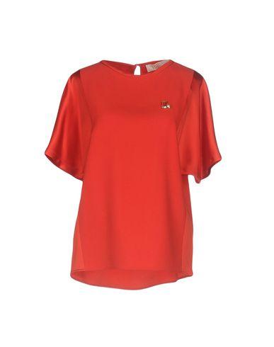 Купить Женскую блузку VDP COLLECTION красного цвета