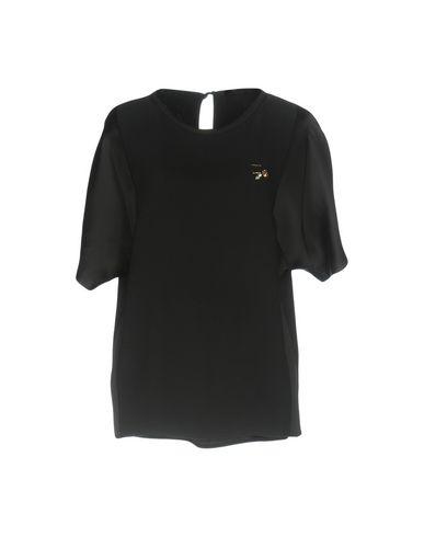 Купить Женскую блузку VDP COLLECTION черного цвета