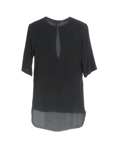 Фото 2 - Женскую блузку  цвет стальной серый