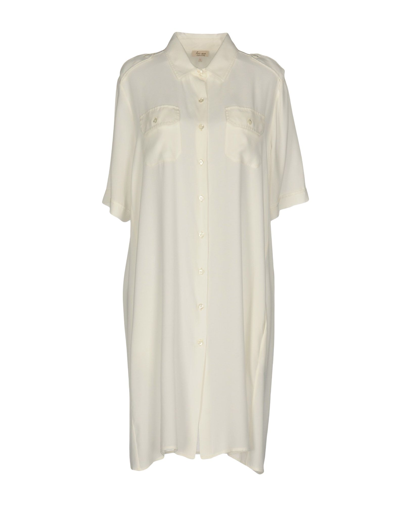 HER SHIRT Платье до колена neeru kumar платье до колена