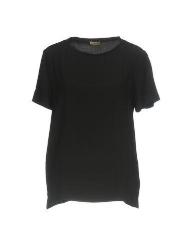 Фото - Женскую блузку MALÌPARMI черного цвета