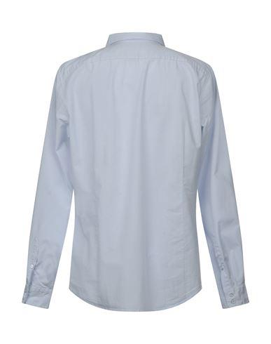 Фото 2 - Pубашка от LIU •JO MAN небесно-голубого цвета