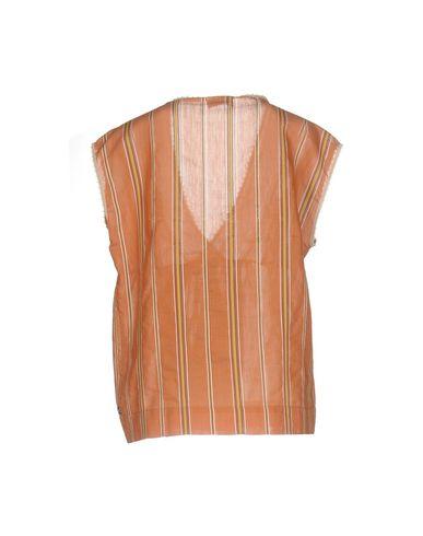 Фото 2 - Женскую блузку  ржаво-коричневого цвета