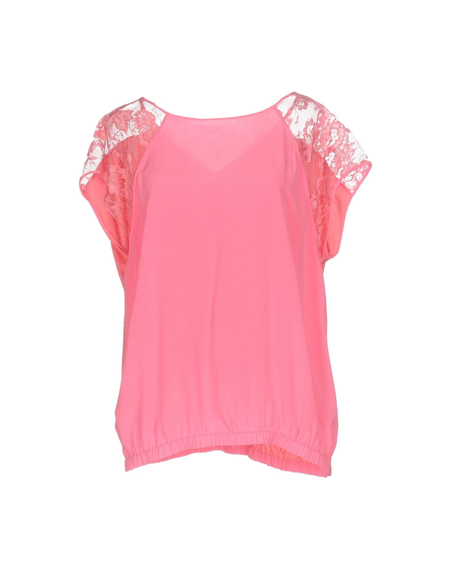 PINKO Damen Bluse Farbe Rosa Größe 2
