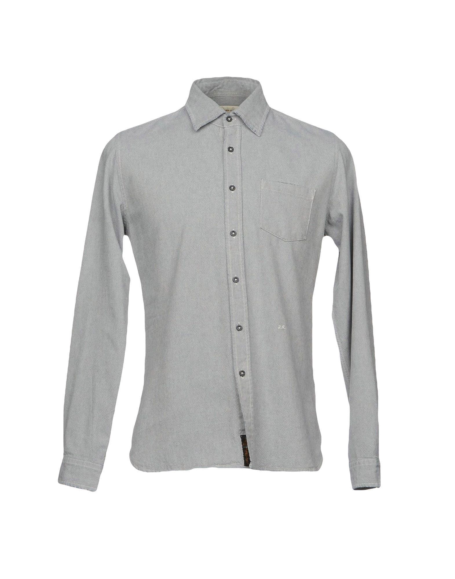 2W2M Herren Hemd Farbe Grau Größe 4