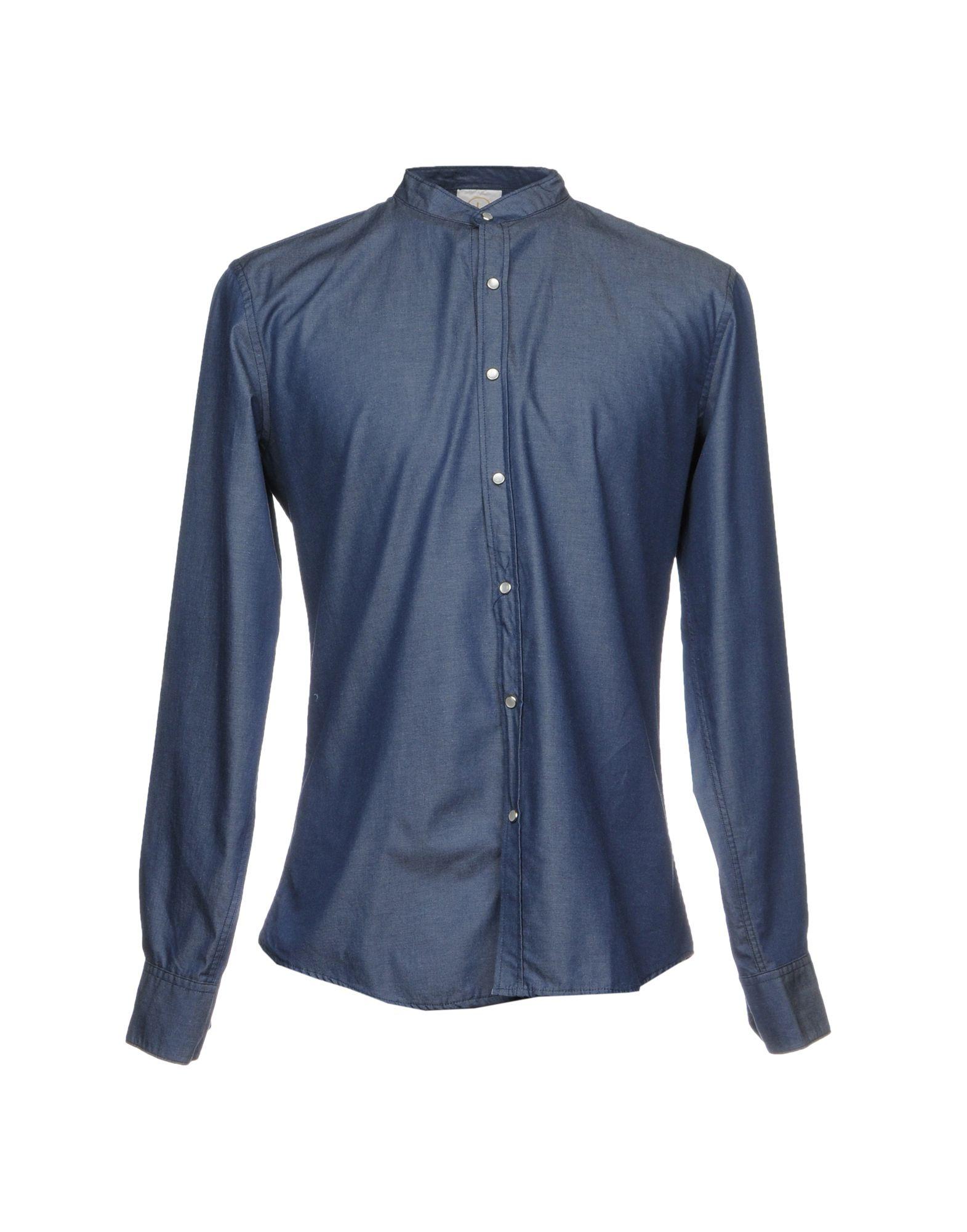 26.7 TWENTYSIXSEVEN Джинсовая рубашка 26 7 twentysixseven джинсовая верхняя одежда