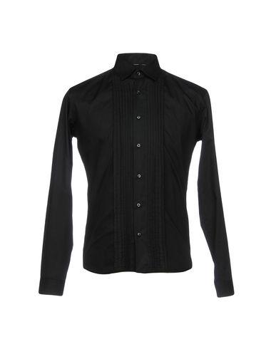 Фото - Pубашка черного цвета