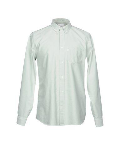 WESC メンズ シャツ ライトグリーン M コットン 100%